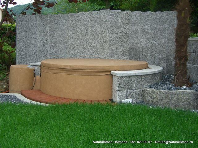 WhirlPool-Stelen-Sichtschutz – Palisaden für Ihren Garten